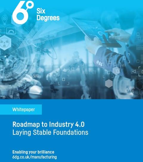 6 Degrees - Industry 4.0 Roadmap Whitepaper Jan 2020 - Front Cover